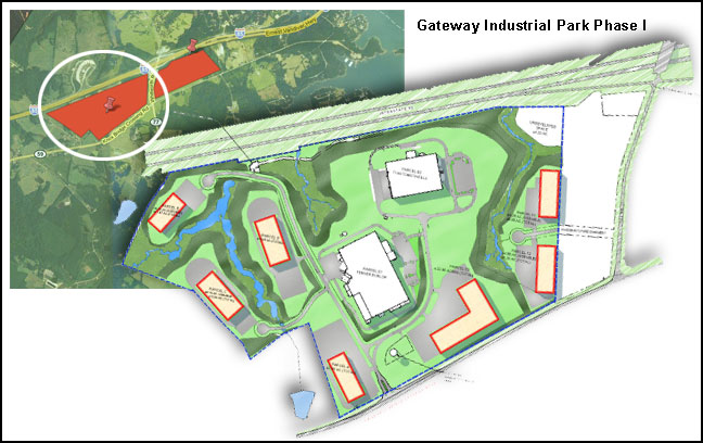 hart county gateway industrial park, growth corridor