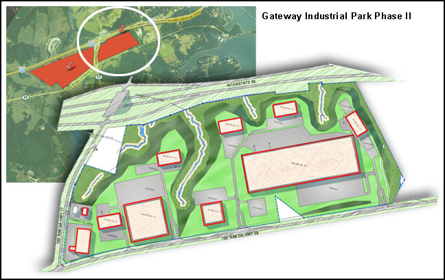 hart county gateway industrial park, Industrial Building Authority